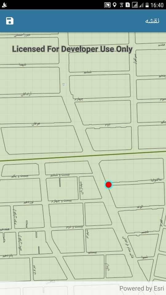 فرم ساز موبایل – استفاده از نقشه Offline و قابلیت دقیق سازی موقعیت GPS براساس نقشه