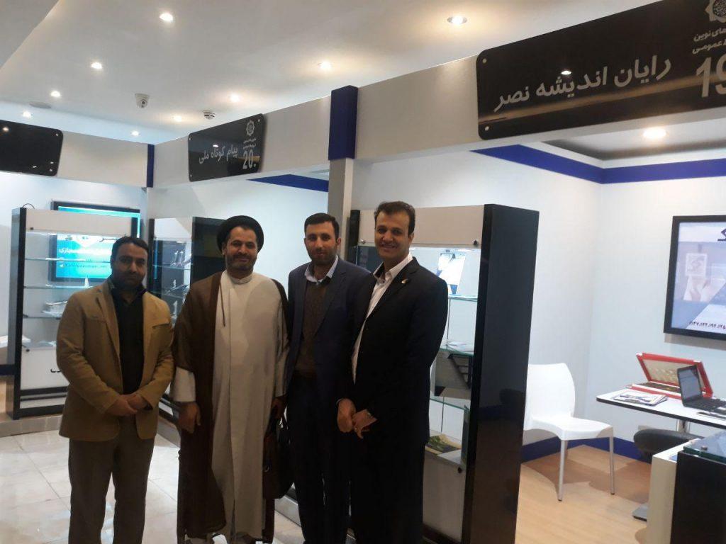 حضور شرکت رایان اندیشه نصر در نمایشگاه فناوری های نوین در روابط عمومی ها در کرمان